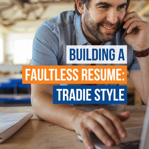 Blog Tradie Resume