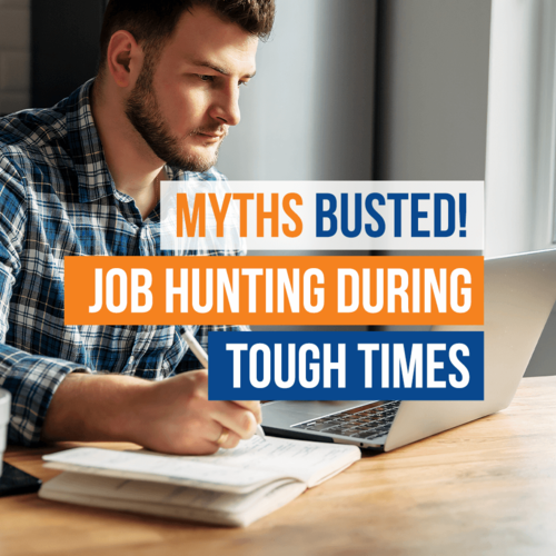 Blog Myths Job Hunting
